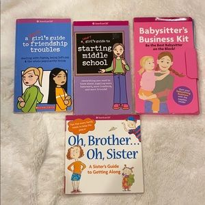 American girl babysitters business kit friendship